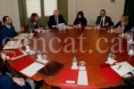 El conseller Mascarell presideix la reunió de constitució del Consell Social de la Llengua de Signes Catalana. (gencat.cat)