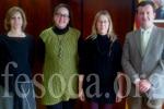 La consellera de Benestar Social i la FESOCA, amb la crisi económica, obre altres pressupostos. (fesoca.org)