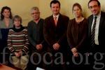 La reunió del Parlament de Catalunya i l´associació de persones sordes de Terrassa per retalls del servei d´intèrprets. (fesoca.org)