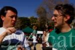 400 persones participen en una caminada solidària de suport als sords a Barcelona. Photo by 324.cat