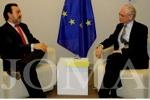 """La ONCE alerta ante la UE de """"los graves recortes"""" para personas con discapacidad. Photo by JOMA"""