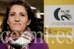 """María Luz Esteban: """"La lengua de signos no es sólo la lengua de las personas sordas, también forma parte del patrimonio lingüístico y cultural del mundo"""". (cermi.es)"""