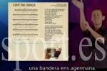 El Camp Nou cantará el himno... en lengua de signos. (sport.es)