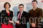 La Fundación Vodafone premia a la Fundación CNSE por sus proyectos tecnológicos y de innovación. Photo by fesoca.org