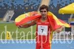 Jaime Martínez, récord del mundo junior en los 1.000 metros. (dxtadaptado.com)