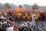 La Diada más multitudinaria sin barreras en la ciudad de Barcelona. Photo by Pedro Arias Redo