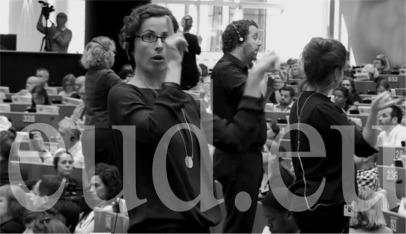 Multilingüismo y la igualdad de derechos en la UE: el papel de las lenguas de signos. (eud.eu)