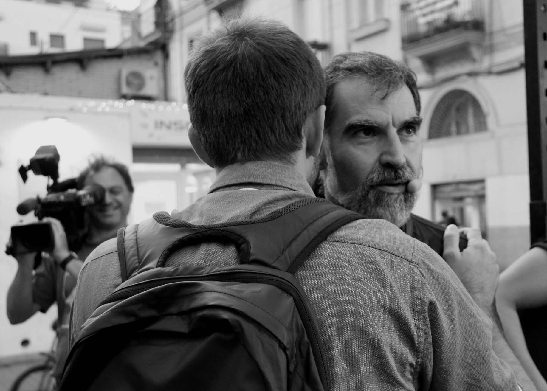 """Jordi Cuixart: """"Fiscalía, la democracia no se precinta"""". (lescroniques.com)"""