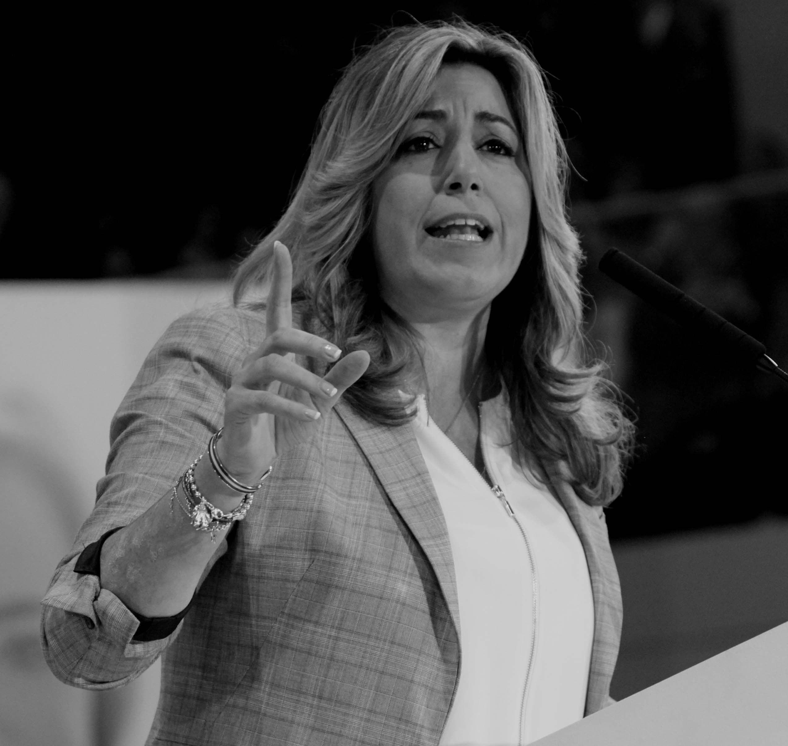 """Susana Díaz: """"La incertidumbre e inseguridad actual tras cuatro años de gobierno popular"""". (lescroniques.com)"""