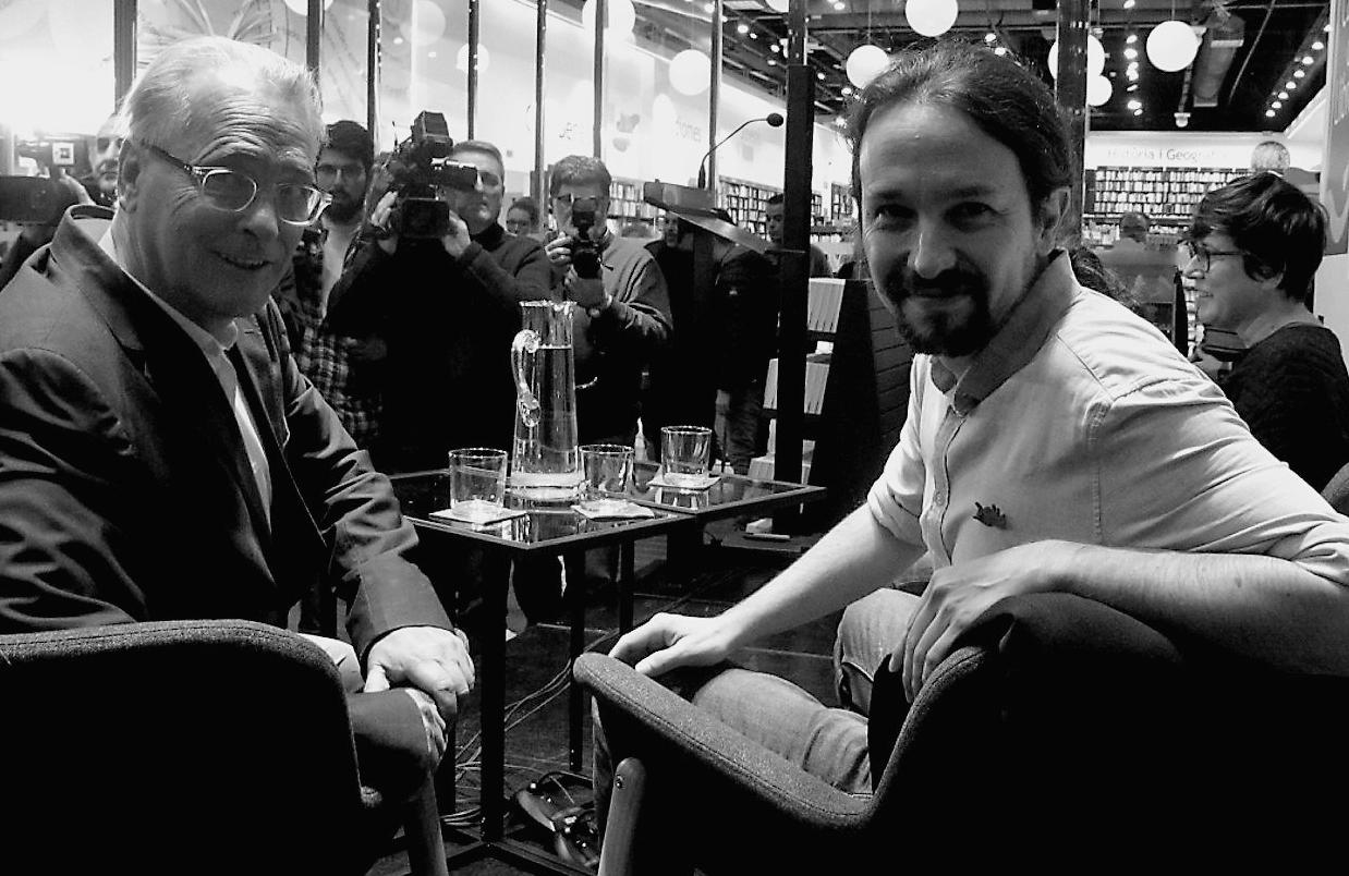 """Pablo Iglesias: """"Debería tener el reconocimiento de lengua de signos oficial"""""""