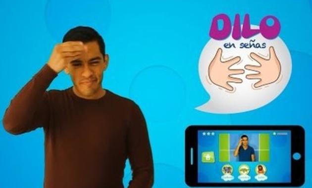 Dilo con Señas, una app para aprender el lenguaje inclusivo. (milenio.com)