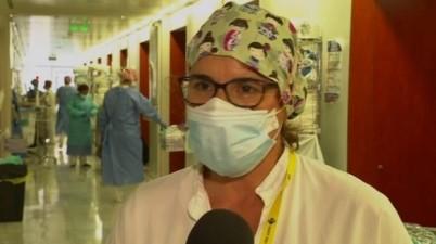 """El personal d'infermeria es reivindica: """"No som herois, som professionals"""". (ccma.cat)"""