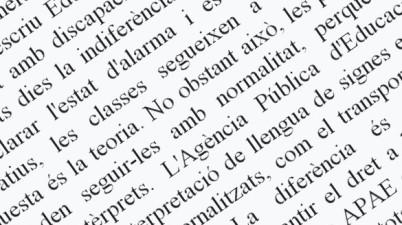 """Alumnos sordos de Andalucía denuncian que la Junta los discrimina: """"No puedo seguir las clases"""". (eldiario.es)"""