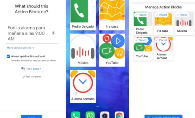 Google lanza la app Action Blocks, con atajos de tareas para mejorar la accesibilidad. (m.europapress.es)