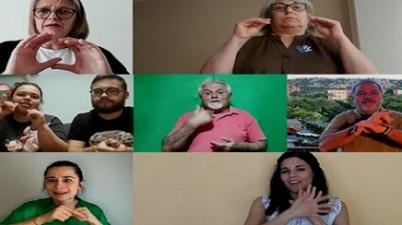 Personas sordas dan a conocer sus experiencias durante el confinamiento. (discapnet.es)