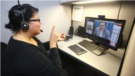 Las personas sordas de Canadá recuperan la comunicación perdida por el coronavirus. (George Skene)