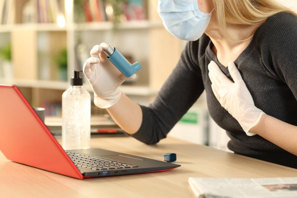 La mascareta i els problemes respiratoris. (consumer.es / AMIC)
