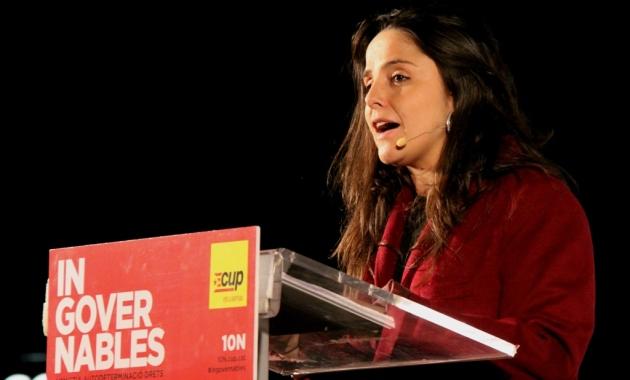 """Maria Sirvent: """"El poble aixeca la veu contra les injustícies"""". (Pedro Arias Redo)"""