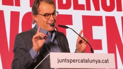 """Artur Mas: """"Trepitjen els drets i llibertats dels catalans"""". (Pedro Arias Redo / lescroniques.com)"""