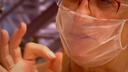 Una mascareta transparent facilitarà la comunicació a les persones sordes. (beteve.cat)