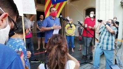 """Josep Rull: """"No és llibertat, perquè continua sent una presó injusta"""". (Pedro Arias Redo)"""