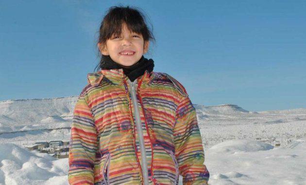 Aixa, la niña sorda que es un ejemplo de superación. (lmneuquen.com)