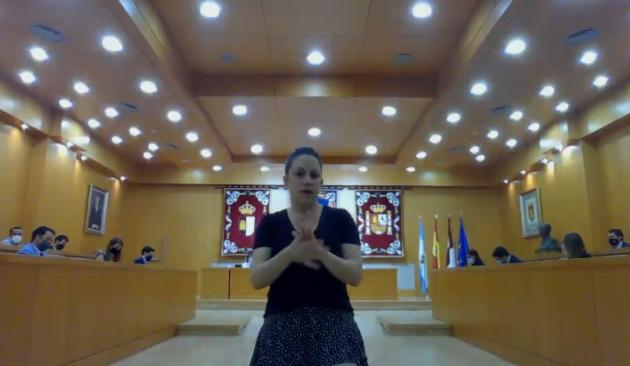 La lengua de signos llega al Pleno. (latribunadetoledo.es)