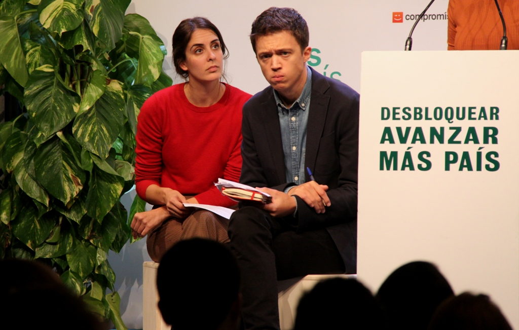 "Iñigo Errejón: ""Desbloqueig polític i un Govern progressista"". (Pedro Arias Redo)"