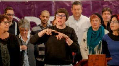 Pilar Lima se postula para la secretaría general de Podem. (levante-emv.com)