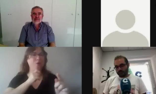 Los sordos piden rapidez en la homologación de las mascarillas inclusivas. (cope.es)