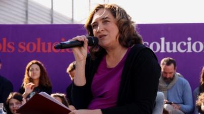 """Ada Colau: """"Els partits independentistes van enganyar la seva gent"""". (Pedro Arias Redo)"""