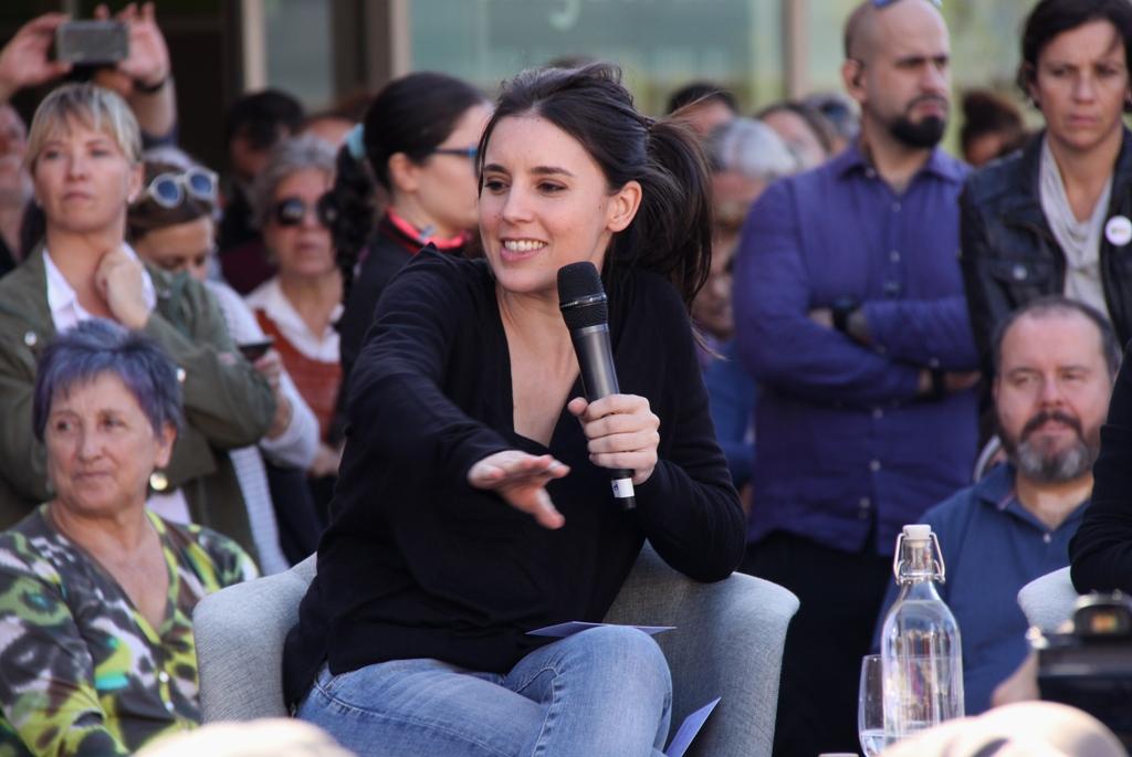 """Irene Montero: """"És possible trobar una solució per a Catalunya"""". (Pedro Arias Redo)"""