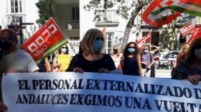 El personal externalizado de los centros escolares demanda a Educación realizarse pruebas Covid. (lavozdigital.es)