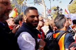 """Ignacio Garriga: """"Juntament amb milers de compatriotes catalans, recuperarem la llibertat"""". (Pedro Arias Redo)"""