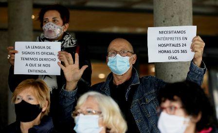 Las personas sordas reclaman intérpretes en los hospitales. (lavozdegalicia.es)