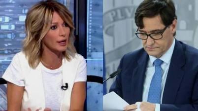 """La pregunta con la que Susanna Griso arrincona a Salvador Illa: """"¿Cuánto van a esperar?"""". (cope.es)"""