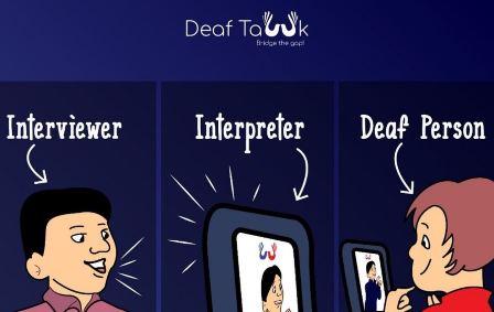 Una APP para encontrar intérpretes de lengua de signos, acelerada por Google. (wwwhatsnew.com)
