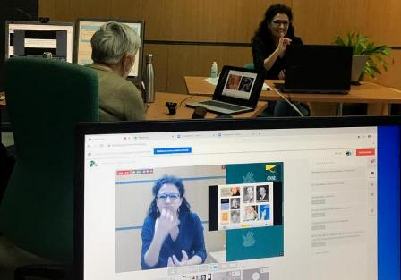 La directora del Cnlse defiende que las lenguas de signos son indispensables e insustituibles. (servimedia.es)