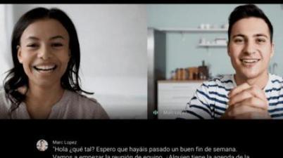 Google introduce subtítulos en español en su servicio de videollamadas Meet. (lavanguardia.com)