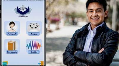 Ingeniero peruano crea una app que facilita la comunicación de personas sordas. (andina.pe)