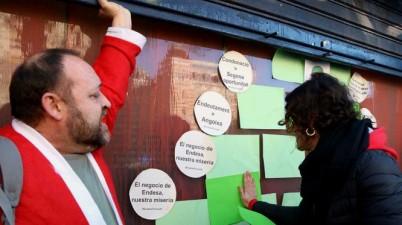 Els municipis catalans es planten contra Endesa pels talls de llum en plena onada de fred. (social.cat / AMIC)